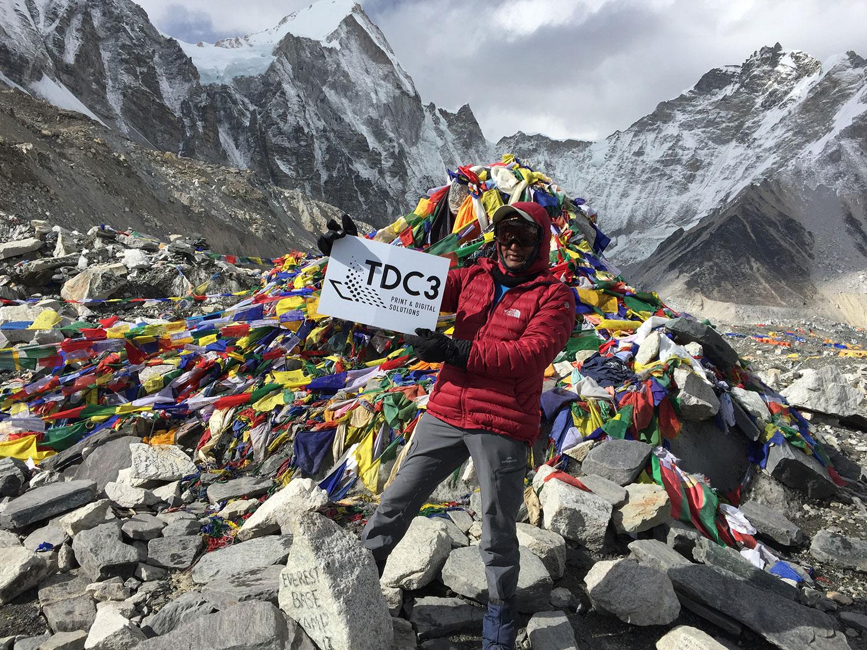 Mithra at Everest Basecamp